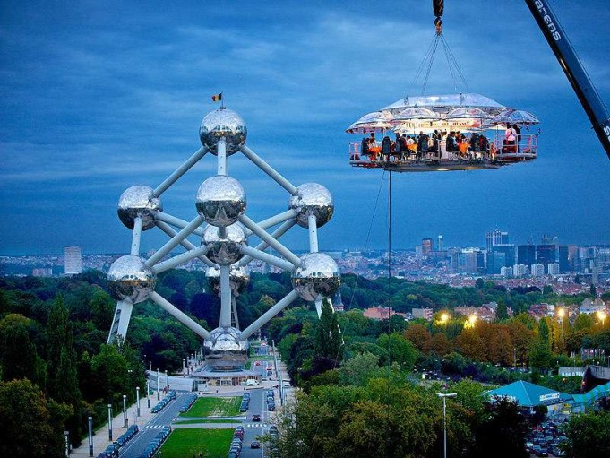 2-Dinner in the Sky - Locations vary Alwa Health